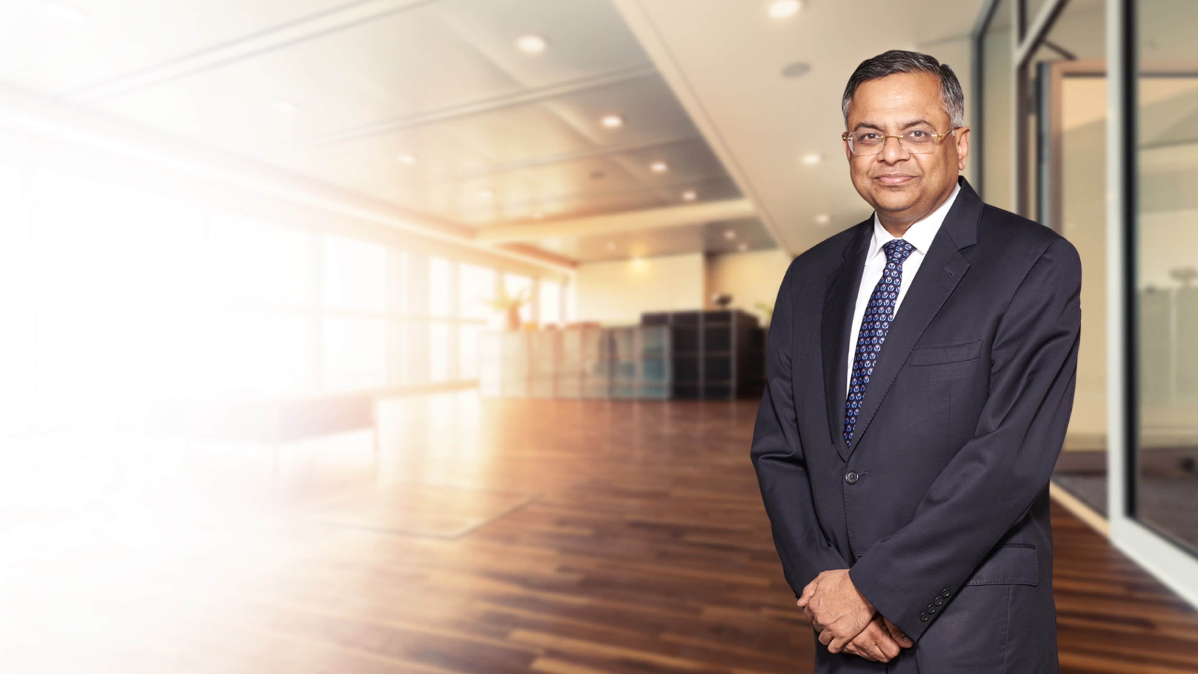 Natarajan Chandrasekaran - Chairman of the Board of Tata Sons