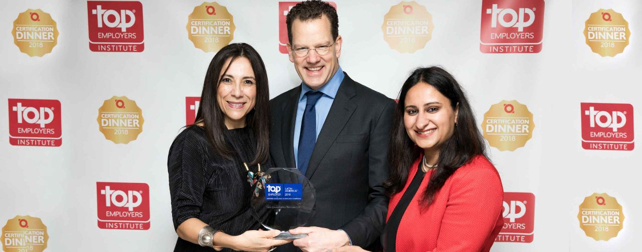 TCS recognized as a Top Employer in Latin America for fourth year running