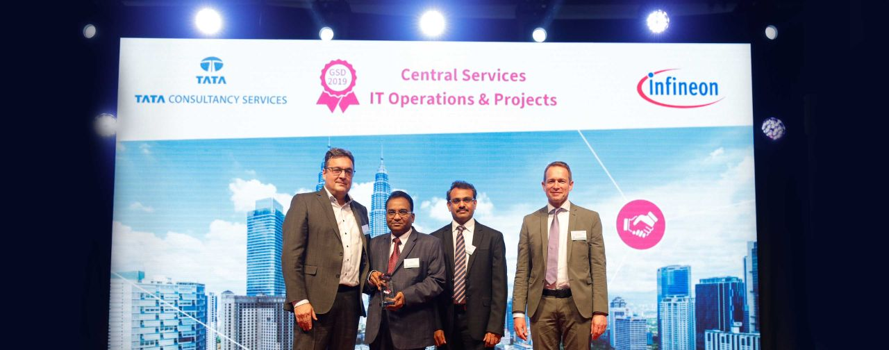 TCS Recognized for its Partnership and Innovation at Infineon's Best Supplier Awards