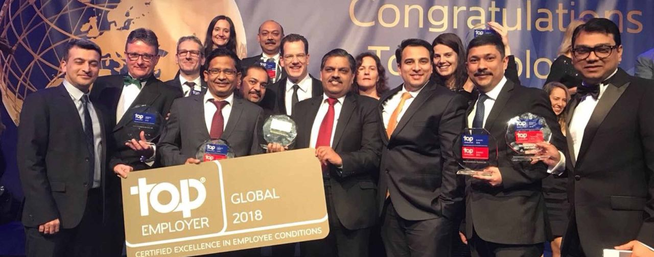 TCS recognized as a global Top Employer for the third consecutive year