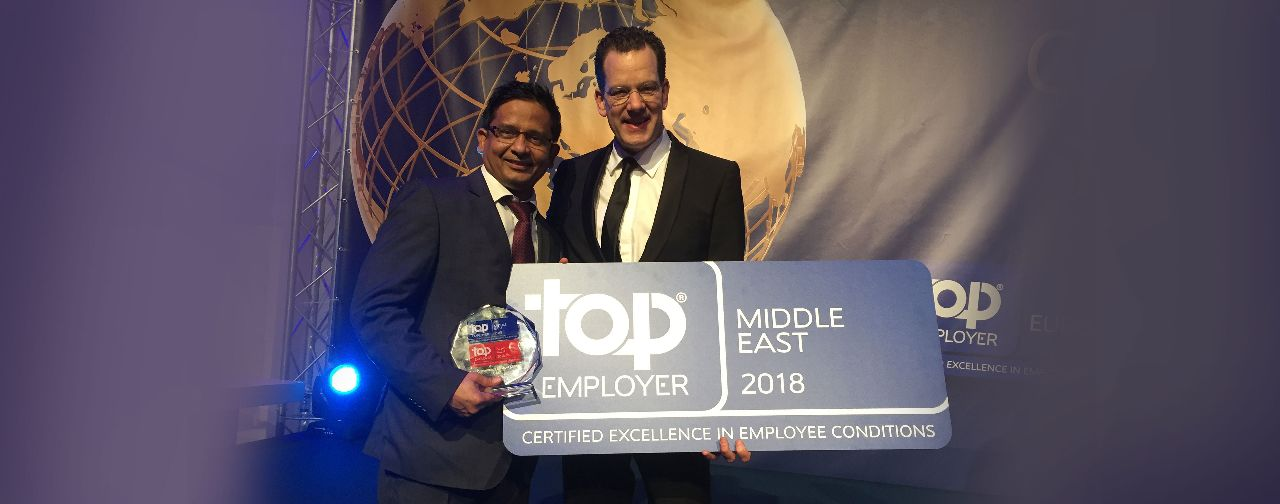 TCS recognized as a Top Employer in the Middle East for third year in a row