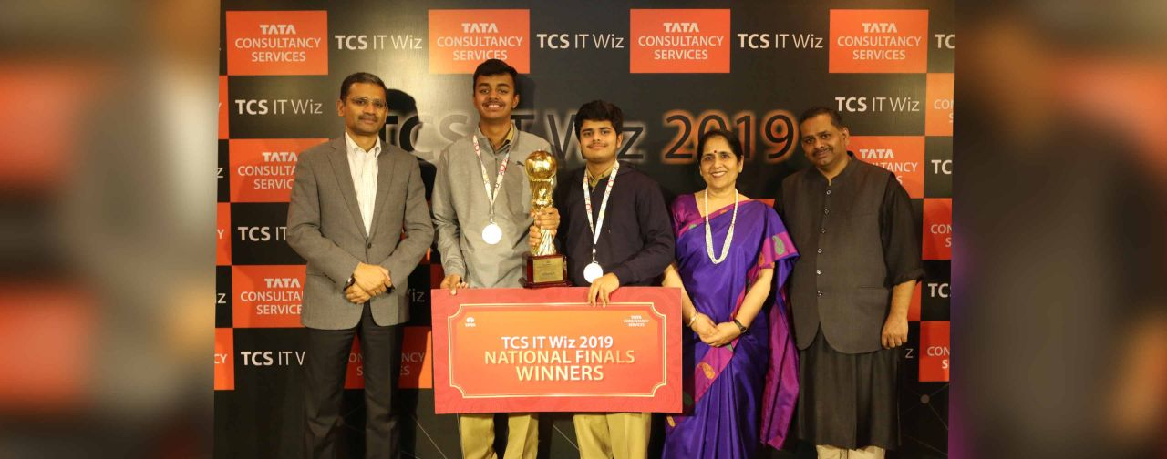 Hyderabad Public School Wins National Champion Trophy at TCS IT Wiz 2019
