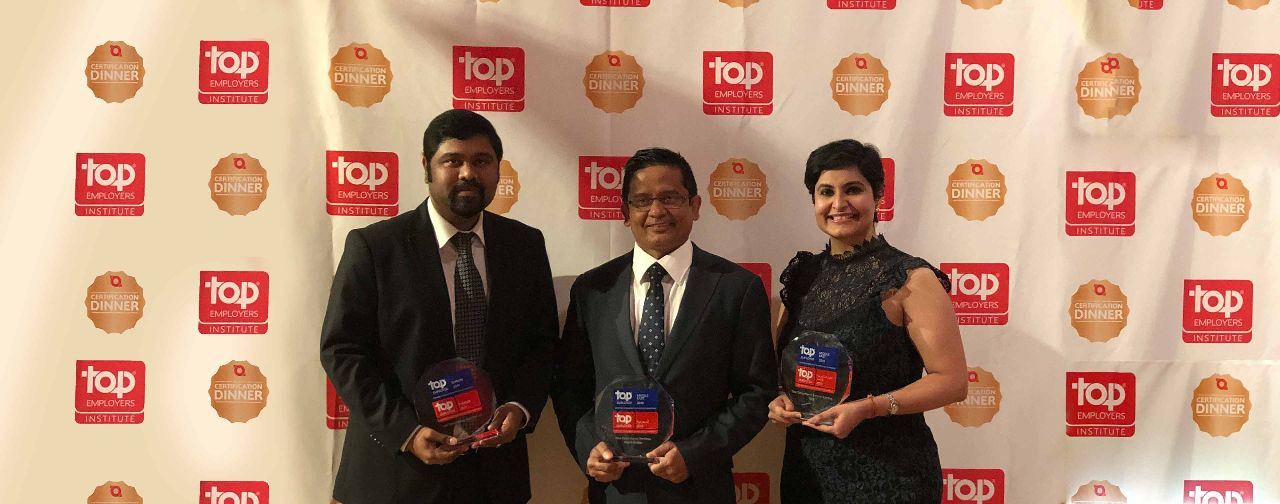 TCS Recognized as a Top Employer in the Middle East for Fourth Consecutive Year