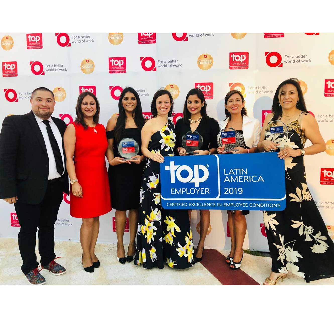TCS Recognized as a Top Employer in Latin America for Fifth Consecutive Year