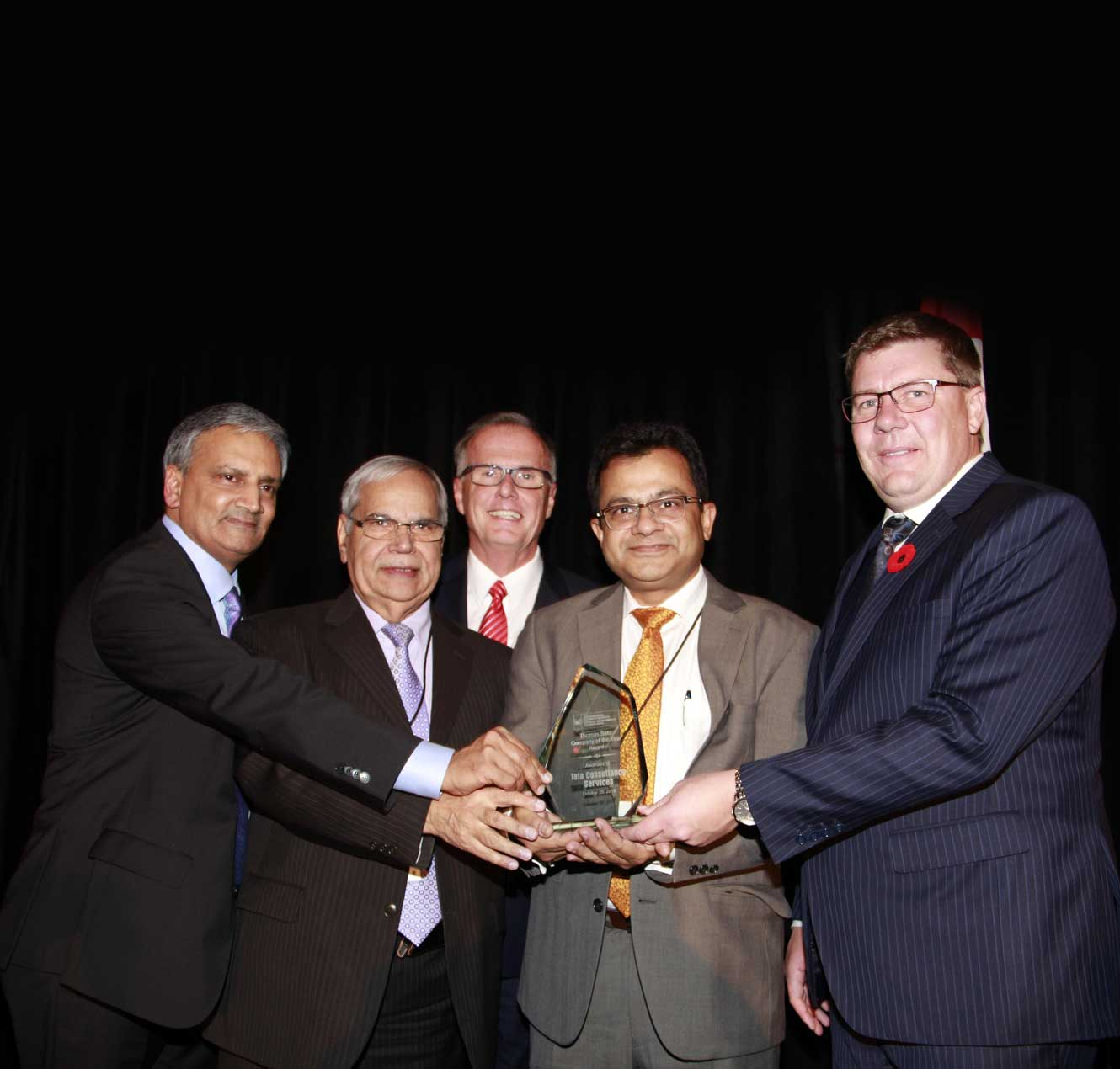 TCS Wins Company of the Year Award for Achievements in Canada