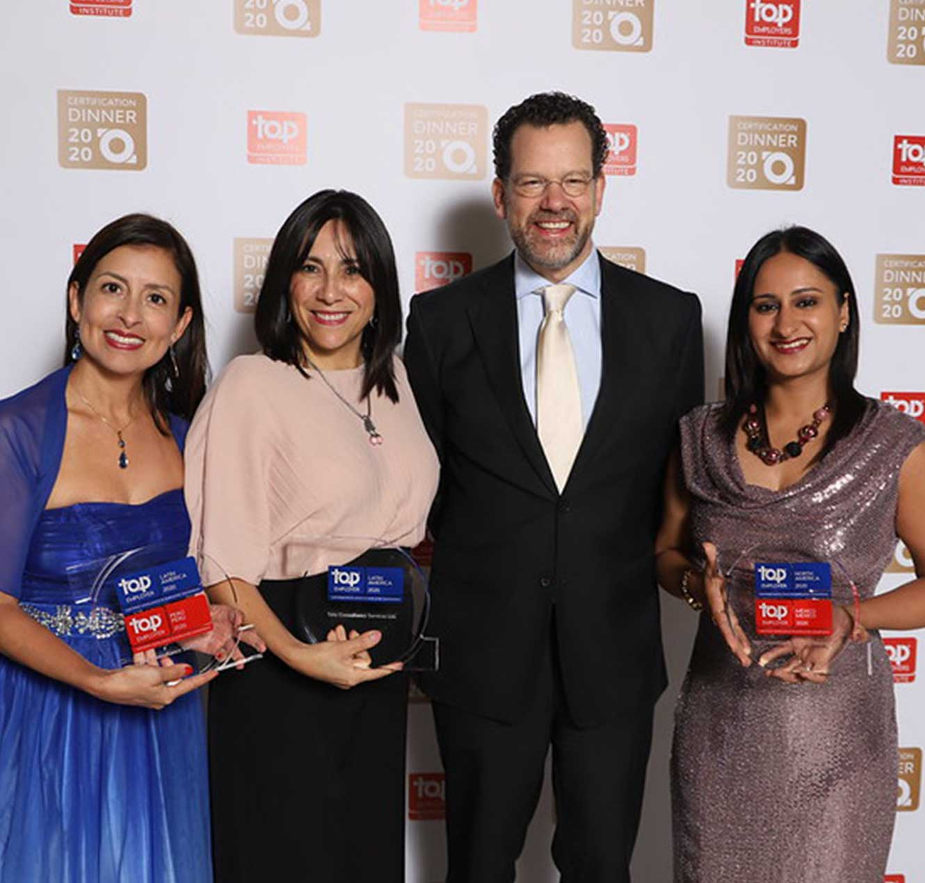 TCS Named a Top Employer in Latin America