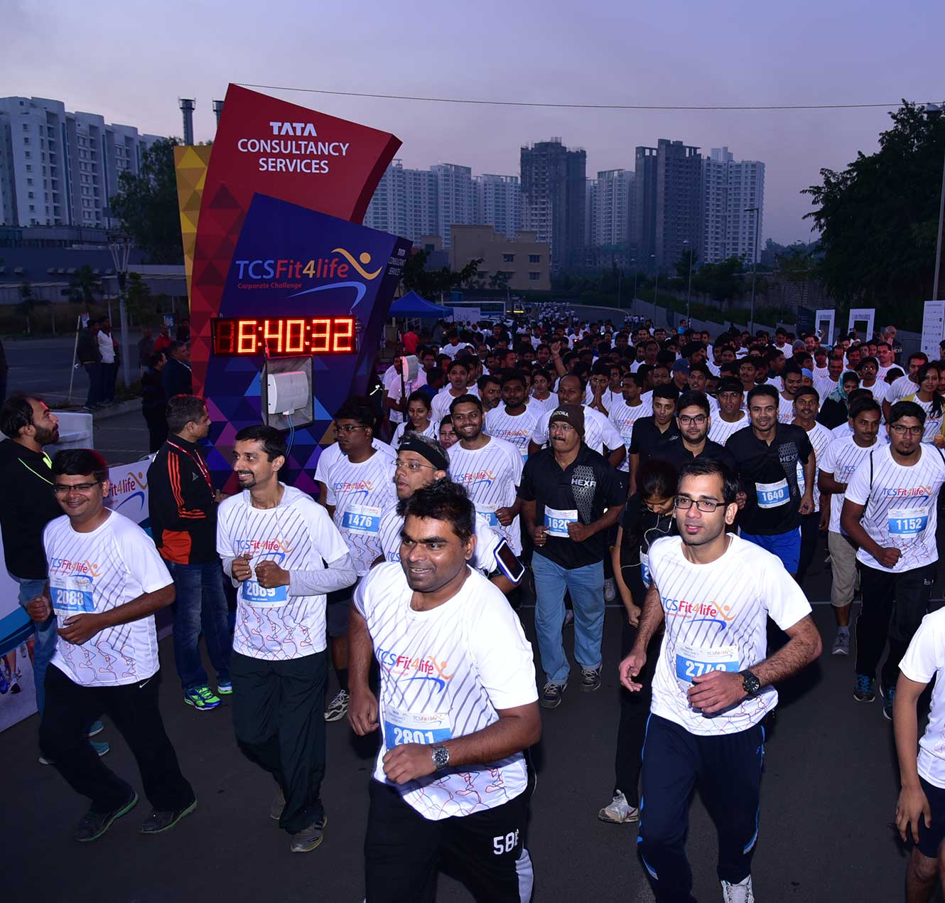 TCS' Fit4life Corporate Challenge to Promote Wellness in the Community