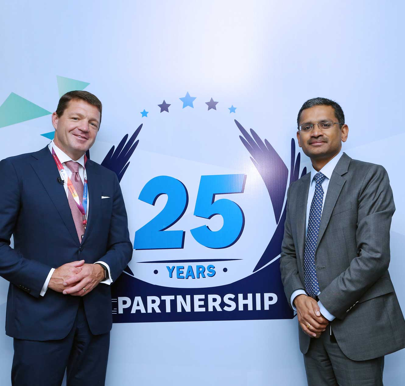 Image of TCS and KLM leadership