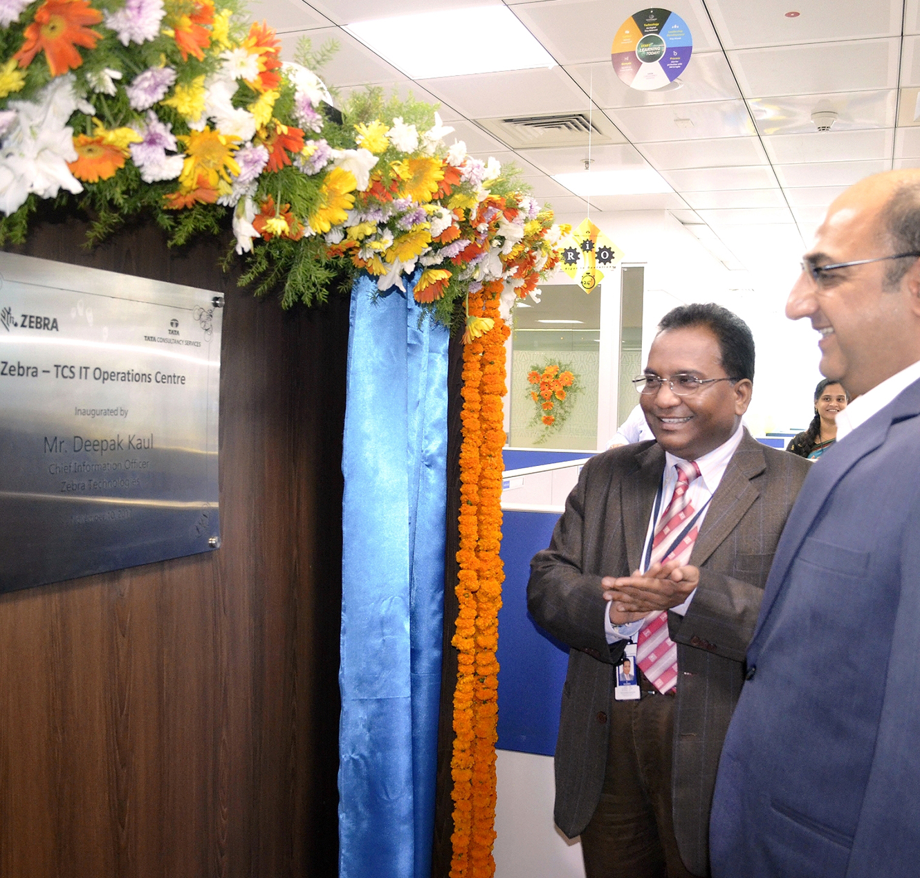 TCS Collaborates with Zebra Technologies on New Global Development Center