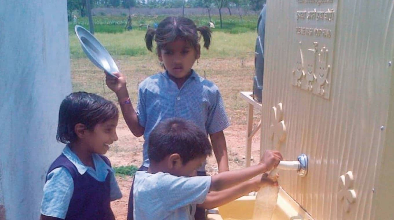 TCS Provides Sanitaion Facilities in Government Schools