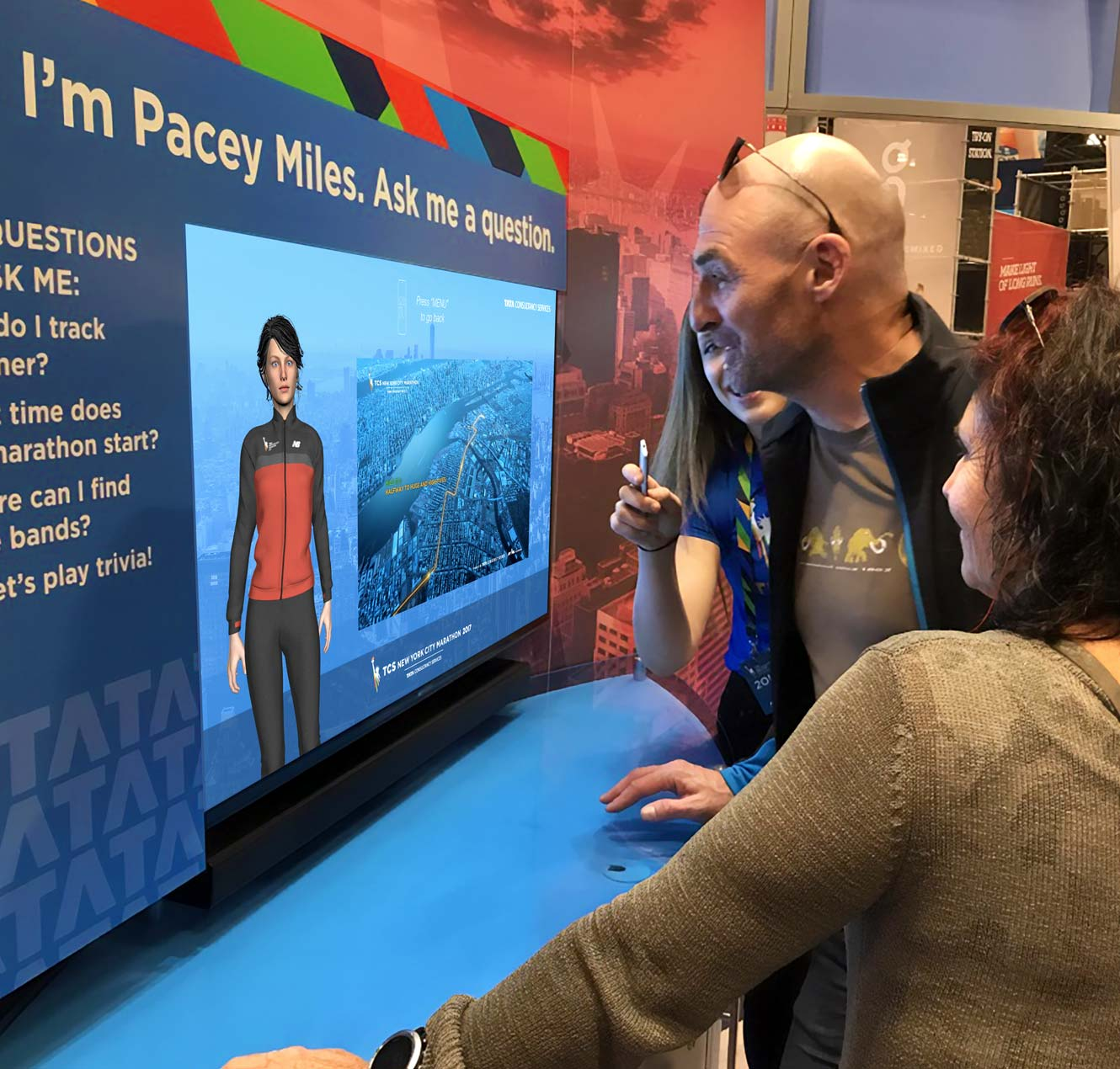 Virtual Assistant Helps at TCS NYC Marathon