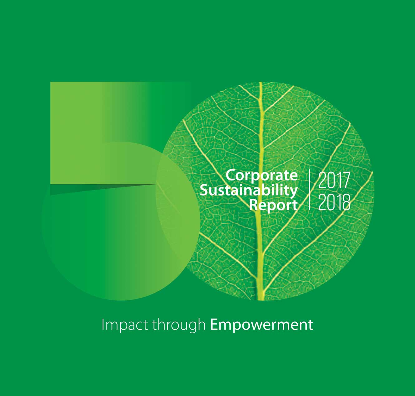 CORPORATE SUSTAINABILITY REPORT 2017-2018