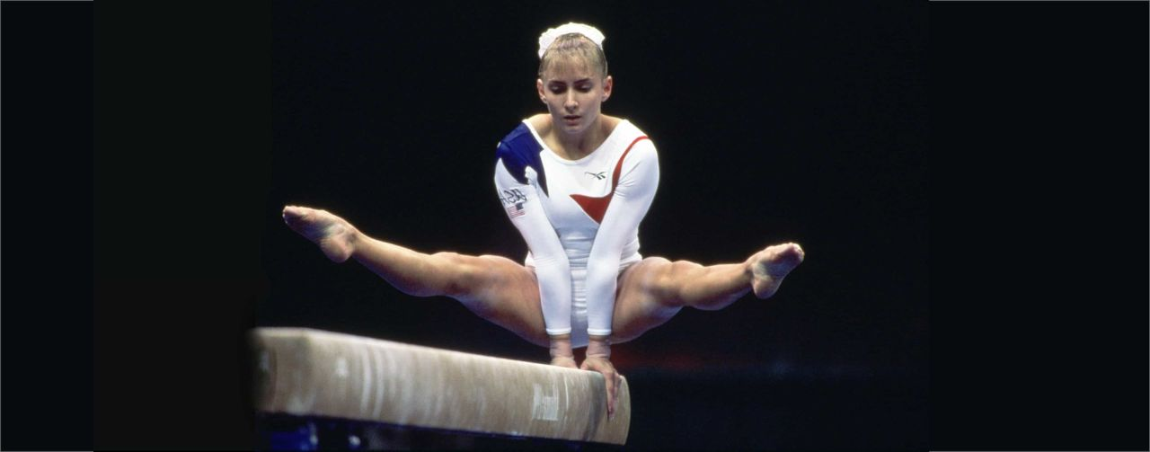 "The legendary US gymnast speaks about her life, its challenges and what ""going beyond"" means to her."