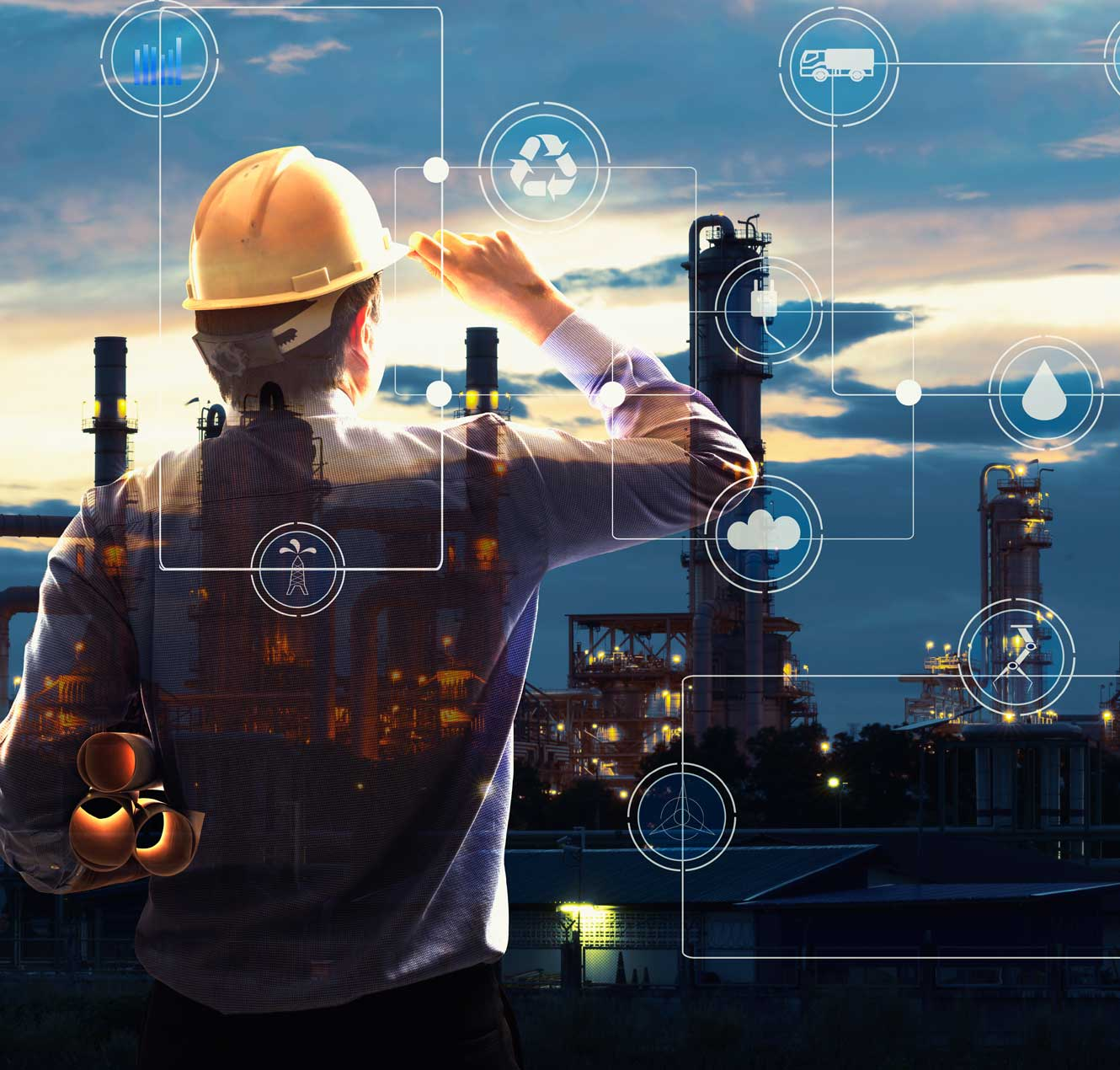 A corporate O&G executive exploring digital technologies to streamline operations.
